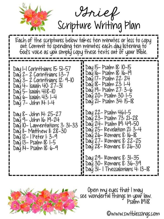 grief scripture plan 2