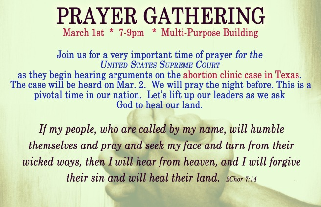 Prayer Gathering